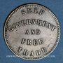 Coins Canada. Ile du Prince Edouard. 1/2 penny 1857
