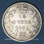 Coins Canada. Victoria (1837-1901). 10 cents 1891