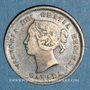 Coins Canada. Victoria (1837-1901). 5 cents 1885