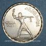 Coins Egypte. 1ère République (1373-1378H = 1953-1958). 50 piastres 1375H (= 1956)