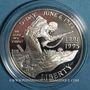 Coins Etats Unis. 1 dollar 1993W. 50e anniversaire du débarquement