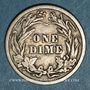 Coins Etats Unis. Barber dime 1914