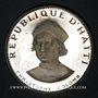 Coins Haïti. République (1863- /). 25 gourdes 1973. Christophe Colomb