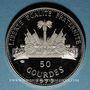 Coins Haïti. République (1863- /). 50 gourdes 1973