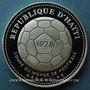Coins Haïti. République (1863- /). 50 gourdes 1977. Coupe du monde de football Argentine