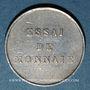 Coins Honduras. République. 1/4 real 1872. Essai