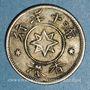 Coins Hong-Kong. Jonas Brook & Brothers Company. 5 cent nd. (1870-1890)