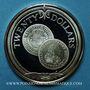 Coins Iles Vierges. 20 dollars 1985FM