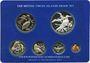 Coins Iles Vierges. Série FDC 1976