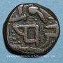 Coins Inde. Cachemire. Ranbir Singh (1857-1885). Paisa. Jammu, date hors flanc