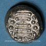 Coins Inde. Chaulukyas du Gujarat. Indo-Sassanides. Drachme dite Gadhaiya Paisa, vers 1120-1210