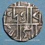 Coins Inde. Cooch Behar. Mada Narayan (1666-1681). 1/2 roupie