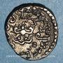 Coins Inde. Empire Gupta. Kumaragupta I (415-455). Drachme
