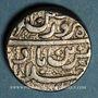 Coins Inde. Empire Moghol. Muhammad Jahangir (1014-1037H = 1605-1627). Roupie. Ahmadabad