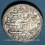 Coins Inde. Empire Moghol. Muhammad Jahangir (1014-1037H = 1605-1627). Roupie au zodiaque, 1031/16