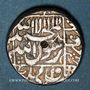 Coins Inde. Empire Moghol. Muhammad Shah Jahan (1037-68H = 1628-58). Roupie an 23