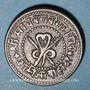 Coins Inde. Gwalior. Madho Rao (1943-82VS = 1886-1925). 1/4 anna 1953VS = 1897