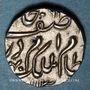 Coins Inde. Hyderabad. Mir Mahbub Ali Khan (1285-1329H = 1869-1911). 1/2 roupie 13(...)