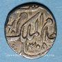 Coins Inde. Hyderabad. Mir Mahbub Ali Khan (1285-1329H = 1869-1911). 1/8 roupie, 1308H