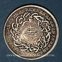 Coins Inde. Hyderabad. Mir Mahbub Ali Khan (1285-1329H = 1869-1911). 8 annas 1328H/43 = 1910