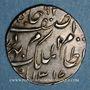 Coins Inde. Hyderabad. Mir Mahbub Ali Khan (1285-1329H = 1869-1911). Roupie 1318H / 42