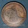 Coins Inde. Hyderabad. Mir Usman Ali Khan (1329-1367H = 1911-1948). 2 pai 1330H /1 = 1911