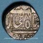 Coins Inde. Indore. Tikoji Rao II (1261-1304H = 1844-86). Roupie au nom de Shah Allam II, 1286H