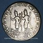 Coins Inde. Jeton de Temple (Ramatanka). Fin du 18e - 1ère moitié du 19e siècle