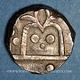 Coins Inde. Mewar. Swarup Singh (1258-78H = 1842-61). Roupie n.d. (1842-1890). Udaipur