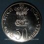 Coins Inde. République. 50 roupies 1978 (B) Mumbai