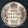 Coins Indes Anglaises. Edouard VII (1901-1910). Roupie 1904 (C). Calcutta