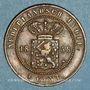 Coins Indonésie. Indes néerlandaises. Royaume de Hollande. Guillaume III (1849-1890). 1 cent 1858