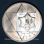 Coins Israël. 2 shekels 1983. 35e anniversaire de l'Indépendance