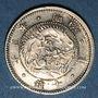 Coins Japon. Mutsuhito (Meiji Tenno) (1867-1912). 10 sen an 3  (= 1870)