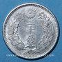 Coins Japon. Mutsuhito (Meiji Tenno) (1867-1912). 20 sen 32ième année (1899).