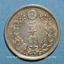 Coins Japon. Mutsuhito (Meiji Tenno) (1867-1912). 20 sen an 10 (1877)