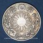 Coins Japon. Mutsuhito (Meiji Tenno) (1867-1912). 20 sen an 3 (1870)