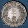 Coins Japon. Mutsuhito (Meiji Tenno) (1867-1912). 20 sen, an 32 (1899)