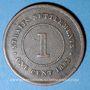 Coins Malaisie. Etablissements des détroits (Straits Settlements). Victoria (1837-1901). 1 cent 1883