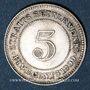 Coins Malaisie. Etablissements des détroits (Straits Settlements). Victoria (1837-1901). 5 cents 1900