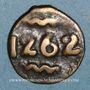 Coins Maroc. Moulay Abd al-Rahman (1276-90H= 1859-73). Fals, 1262H