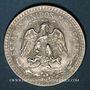 Coins Mexique. 2e République. 50 centavos 1944