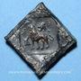 Coins Nord de l'Inde. Pushkalavati (vers 185-160 av. J-C). 1/2 karshapana de bronze