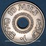 Coins Palestine. Administration britannique. 10 mils 1935