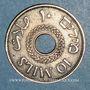 Coins Palestine. Administration britannique. 10 mils 1942