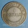 Coins Somali. Curatelle Italienne. 1 somalo 1950