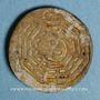 Coins Thailande. Siam. Jeton de casino en porcelaine