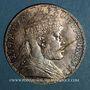 Coins Ethiopie. Ménélik II (1889-1913). 1 birr 1895 de l'ère éthiopienne (= 1902)