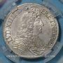 Coins Louis XIV (1643-1715). 1/2 écu à la cravate 1680 A