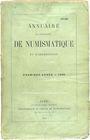 Second hand books Annuaire de la Société Française de Numismatique. Tome 1. 1866